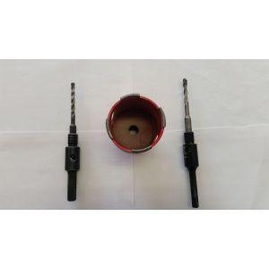 Vrtací korunka 73x160mm SDS+