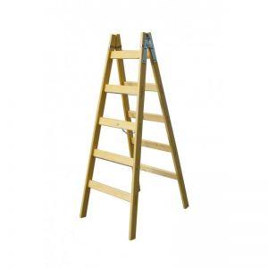 Štafle dřevěné 5 příček,7 příček