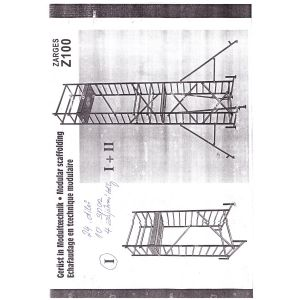 Hliníkové lešení Zarges modul 1